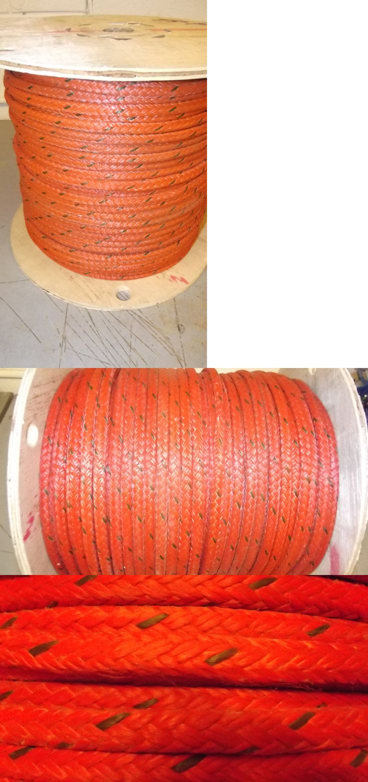 Ropes Cords and Slings 50816: New 3 8 X 585 12-Strand Braided Polyester Rope, Wire Pulling Rope, Anchor Line -> BUY IT NOW ONLY: $205 on eBay!