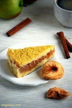 Kuchnia wegAnki: Szarlotka jaglana bez cukru