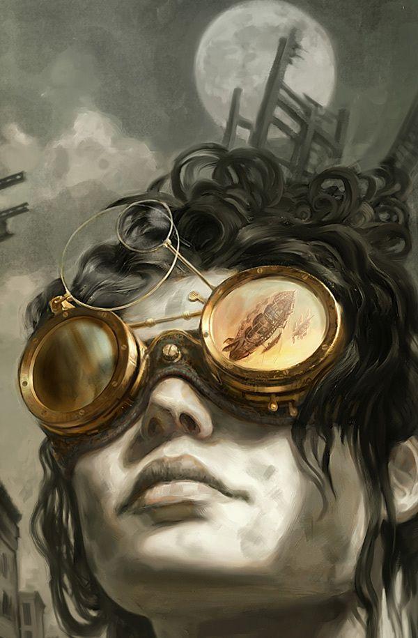 FANTASTIC WORLDS by Jon Foster, via Behance