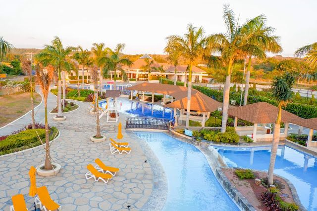 A Pool And Beach Resort In Calatagan Batangas Aquaria Waterpark Beach Resorts Water Park Resorts In Philippines