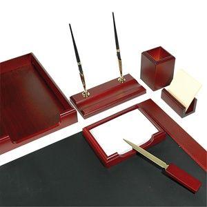 Настольный набор красное дерево 7 предметов 7159XDU на Маркете VSE42.RU