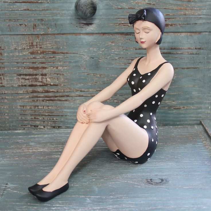 52 Best Vintage Bathing Beauty Figurines Images On