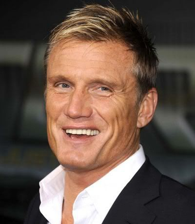 "Hans ""Dolph"" Lundgren, Swedish actor 