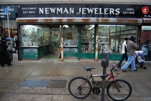 Newman Jewelers, formerly located on 37th Avenue between 78th & 79th Streets, Jackson Heights, NY.