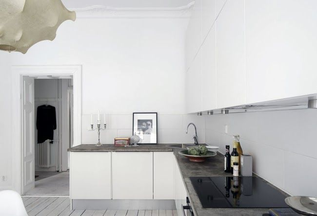 STIL INSPIRATION | White + concrete