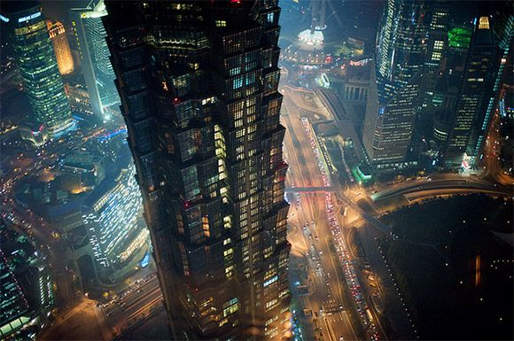 Shanghai Pudong. But how much does this remind you of Bladerunner
