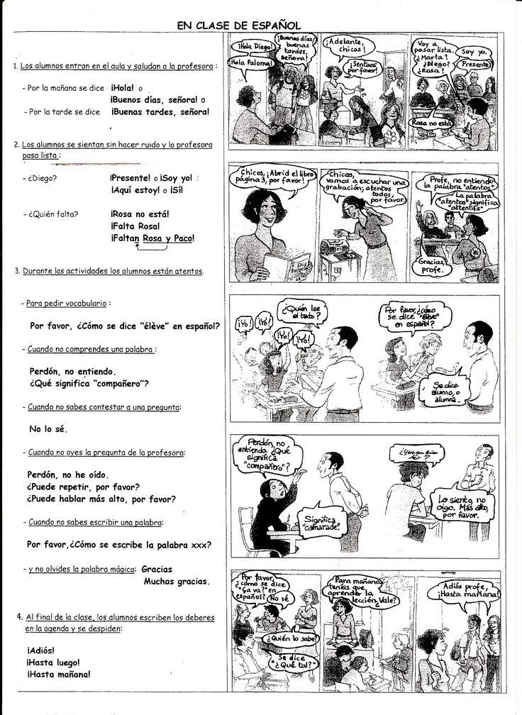 Profesores Majos: en clase de español #learn #spanish #kids