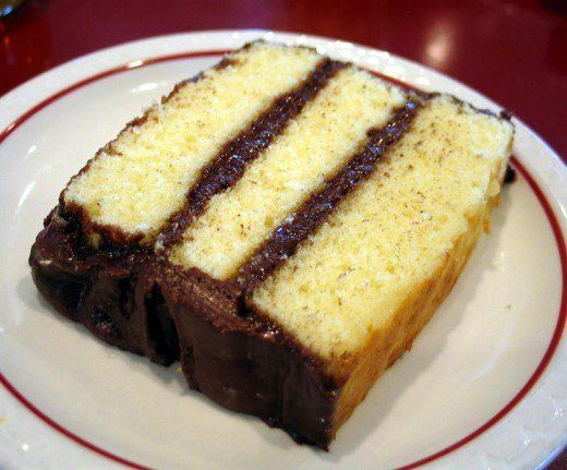 A classic from your childhood, or a favorite of today. Yellow cake with chocolate frosting made from scratch.