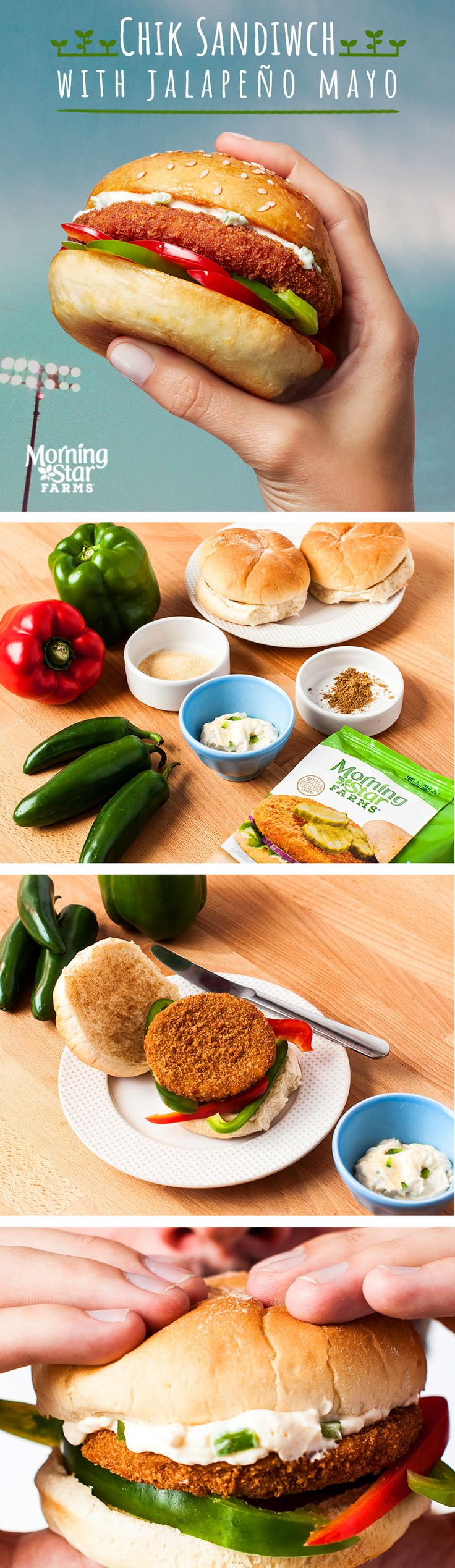 Give your Chik Sandwich the condiment it deserves with this easy Jalapeno Mayo recipe.