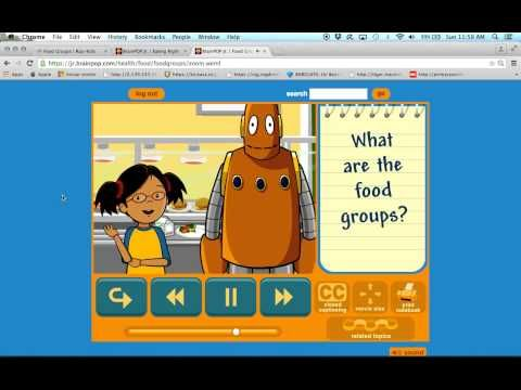 Food groups video and quiz - YouTube