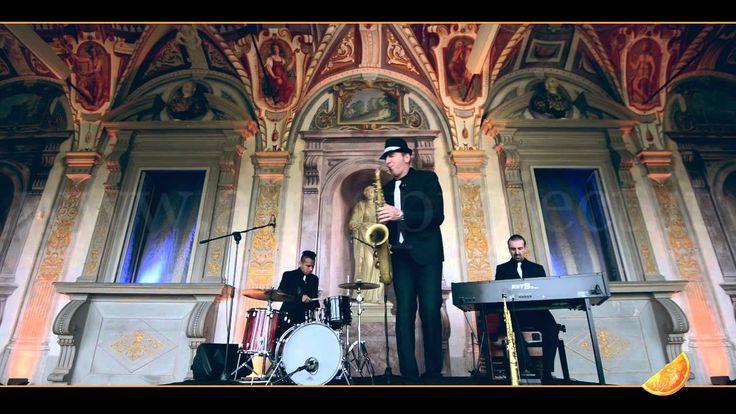 """ALMA PROJECT - GB Sax Drums HAMMOND TRIO - """"Just The Two Of Us"""" (Grover Washington Jr.) - Villa Corsini di Mezzomonte"""