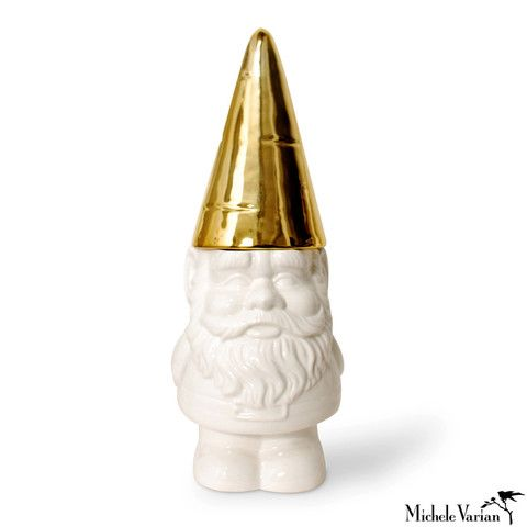 Santa, are you listening? Gnome Cookie Jar