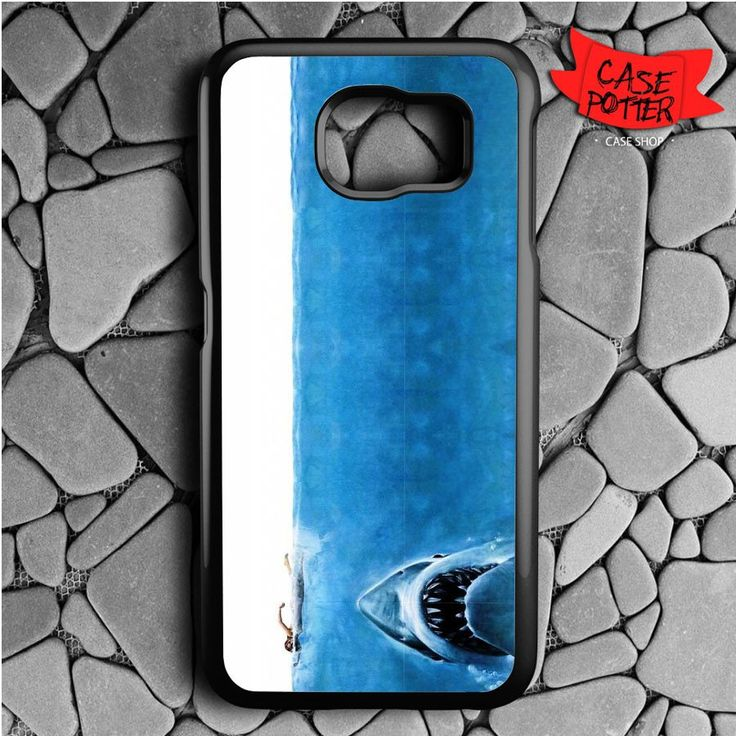 Jaws Samsung Galaxy S6 Black Case
