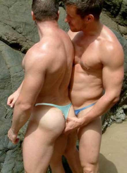 Gay Muscle Thong 95