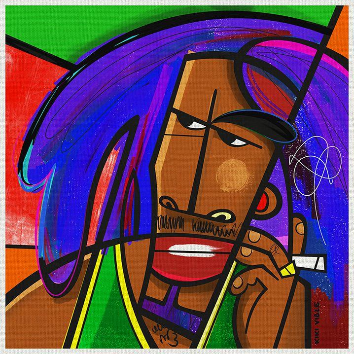 Bob Marley By Kiki Viale
