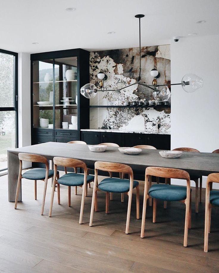 Artisan Furniture Australia On Instagram Neva Light Chair In The Brilliant Dining Sp Dinning Room Design Modern Scandinavian Interior Casual Dining Rooms