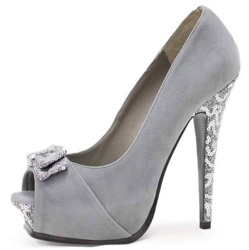 1000  images about SILVER HEELS on Pinterest | Silver glitter ...
