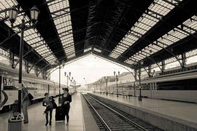 Estación Central, Santiago - Chile. Designed by Gustave Eiffel.