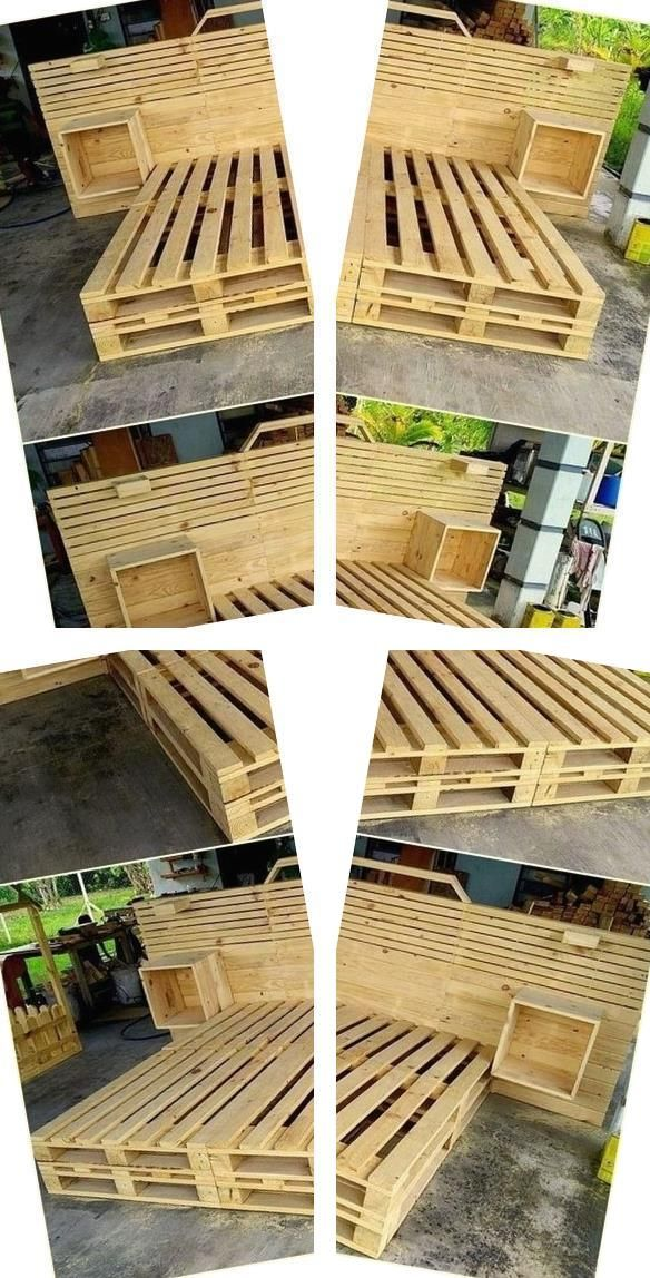 Pallet Furniture Blueprints Waste Pallets Pallet Patio