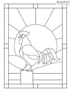 182905-250x323-Stained-Glass-Pattern-rooster.jpg