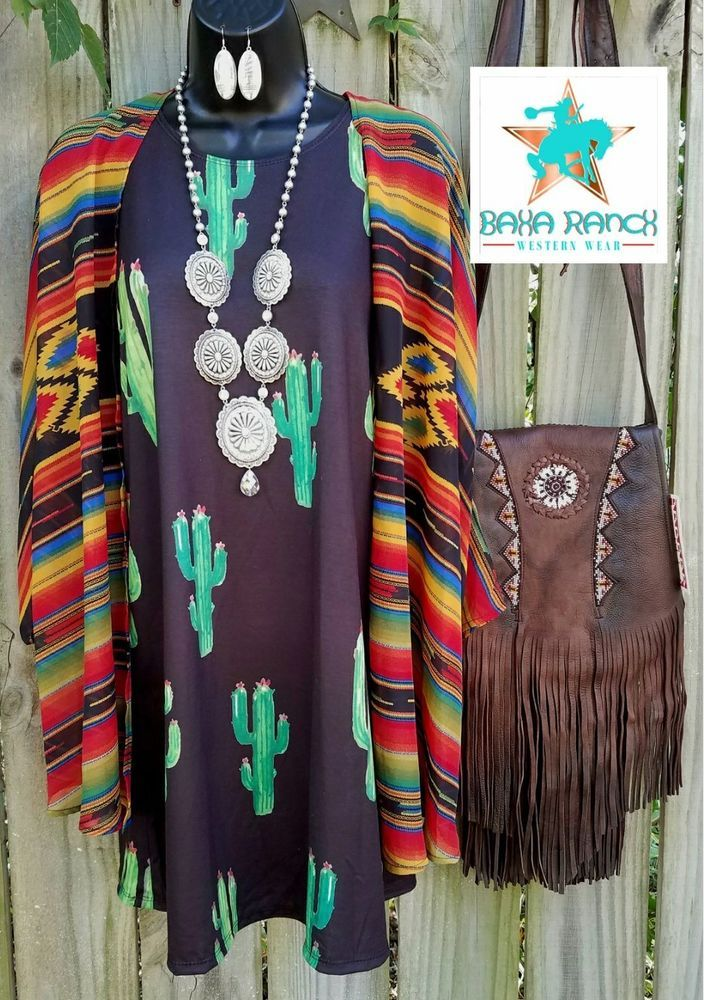 COWGIRL GYPSY Serape southwestern Duster Kimono Cardigan Western BOHO medium #elizabeths #cardigantopperdusterkimono
