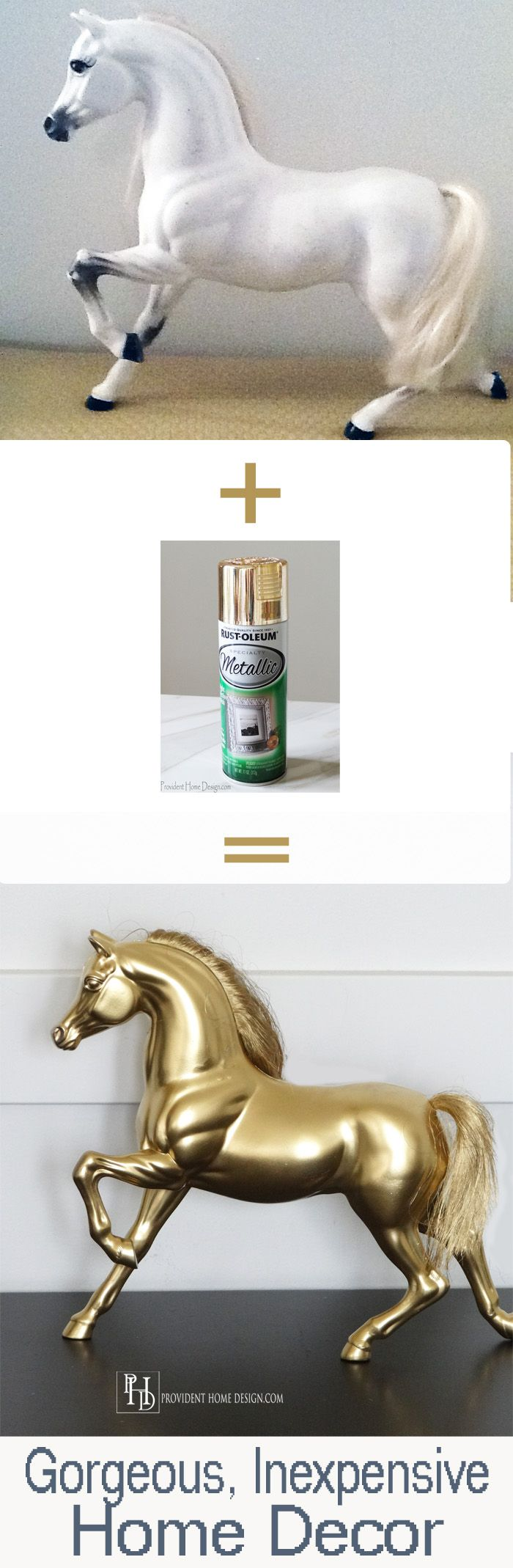 Come get inspired by what just a little spray paint can do! Spray horses white and kids can paint their own horse