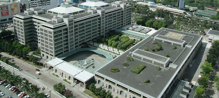 Asian Development Bank Headquarters Xypex Chemical Corp Manila Philippines Usa Built Environment Development Chemical