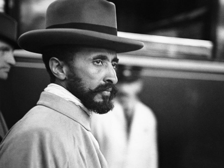 Haile Selassie by Lucien Aigner    -    Haile Selassie was Ethiopia's regent from 1916 to 1930 and then emperor until 1974. He was born Tafari Makonnen in 1892, the son of Ras Makonnen, a cousin and close friend of Emperor Menilek II. Selassie was believed to be a direct descendant of King Solomon and the Queen of Sheba. Rastafarians regard Haile Selassie as God on account of a Marcus Garvey prophecy.
