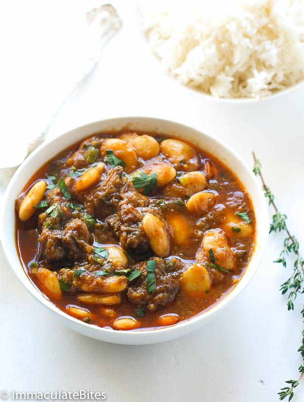 Feeling adventurous? Try this Jamaican Oxtail Stew Recipe and serve over Mahatma White Rice.