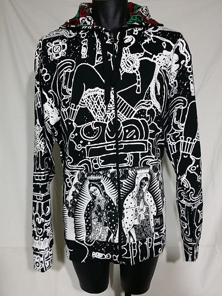 graphic hoodie graffiti mural art design mexico aztec art