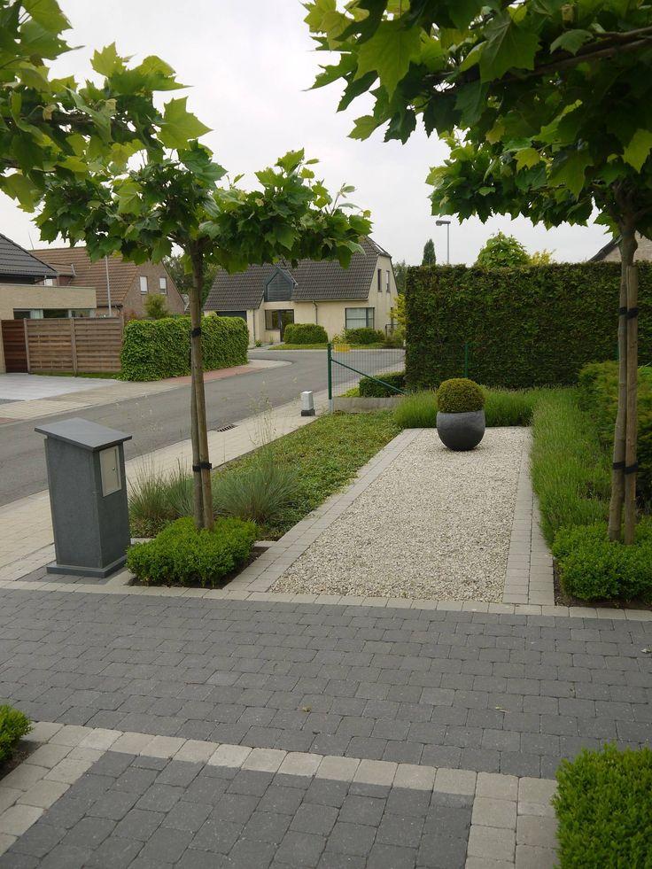Aanleg van tuin met dakvormen