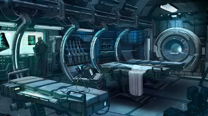 Sci-Fi Hospital Concept Art - Bing Images