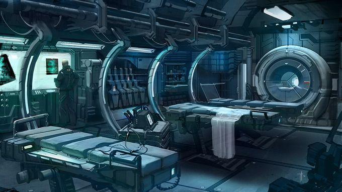 Sci Fi Hospital Room : Sci fi hospital concept art bing images diy