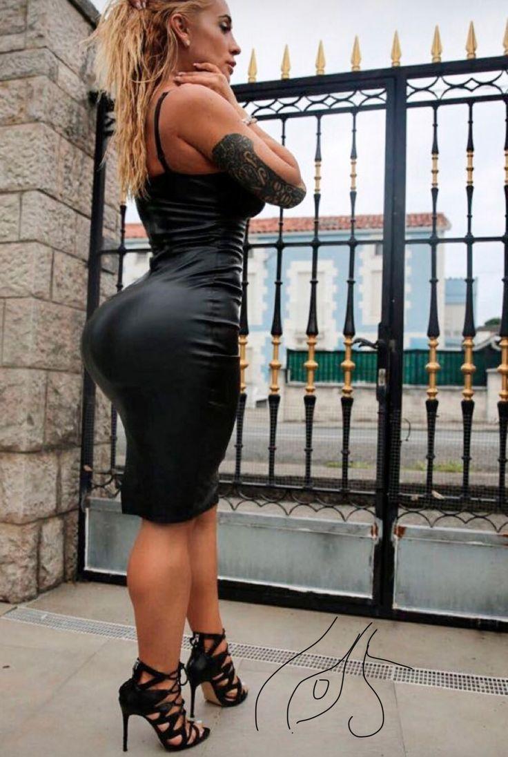 Pin Taulussa Big Booty Tight Dress-8556