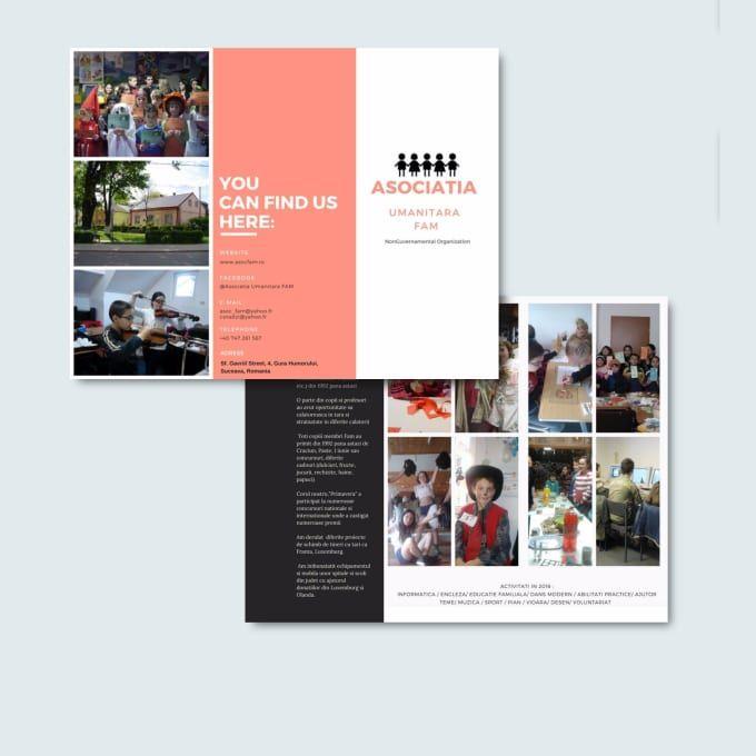 Create Brochures Tri Folds In 2020