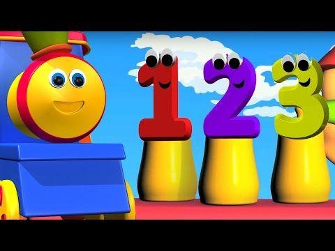 bob berhitung nomor melatih | video pendidikan | 3d Kartun untuk anak-anak | Counting numbers - YouTube