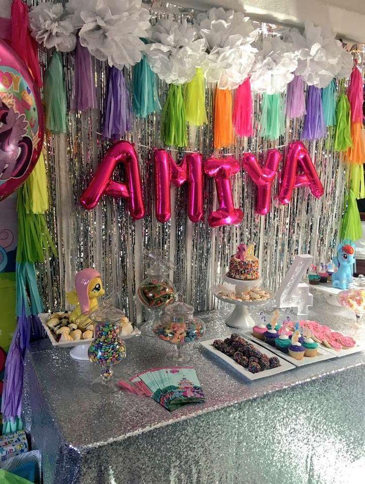 My Little Pony Unicorn Birthday Party Ideas My Little