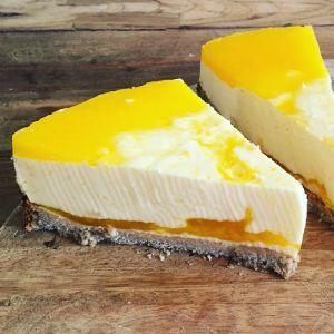 GEZONDE TAART: Magere kwarktaart met citroen en verse jus d'orange