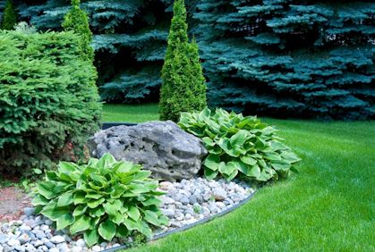 DIY homeowners have the option of purchasing either natural or fake landscape rocks, with the latter tending to be the less expensive option. Most natural rock prices range from $6 a cubic foot to up to $30 a cubic foot depending on the size, shape, and type.