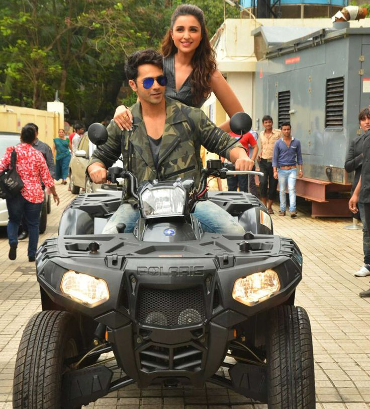 polarisindiaSeems Varun Dhawan and Parineeti Chopra had a great time on Polaris Sportsman to the song launch of their upcoming movie Dhisoom!! #offroad #adventures #thrill #adrenaline follow us for more exiting updates and get chance to get polaris goodies