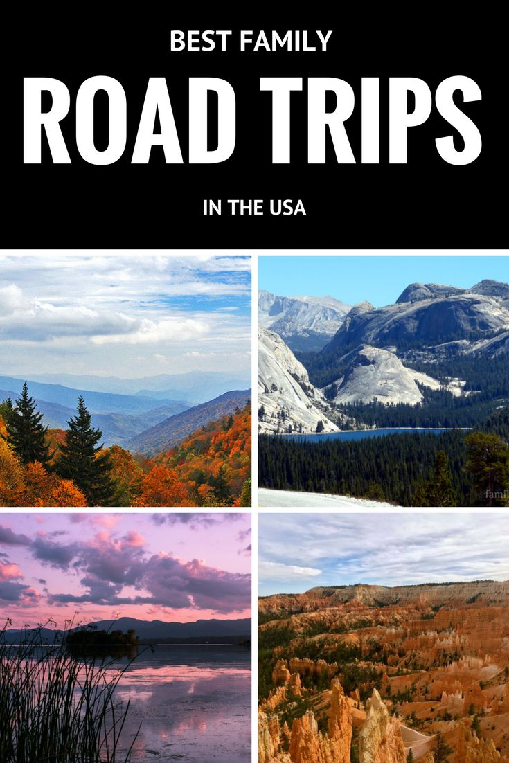 Best family road trips in the US - Route 66, Hwy 1, Utah and more!
