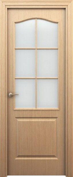 Межкомнатная дверь Палитра Светлый дуб