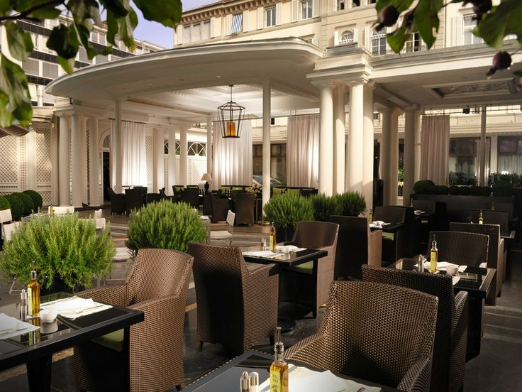 Restaurants U0026 Bars   Baur Au Lac   Luxury Hotel In Zurich, Switzerland