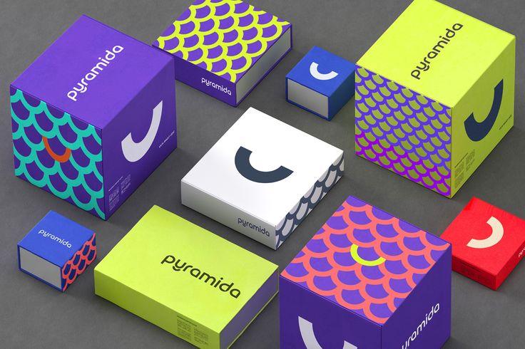 """다음 @Behance 프로젝트 확인: """"Pyramida - Brand Identity"""" https://www.behance.net/gallery/46711557/Pyramida-Brand-Identity"""