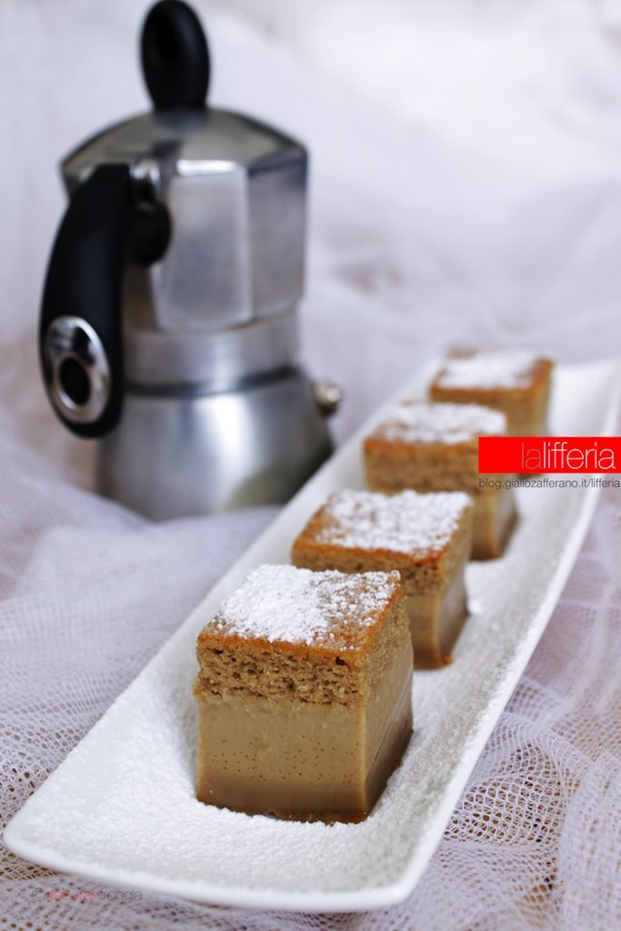 Torta magica al caffè