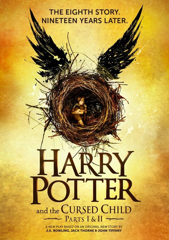 """Harry Potter and the cursed child. Parts one and two"",  based on an original new story by J.K. Rowling, John Tiffany & JaAs an overworked employee of the Ministry of Magic, a husband, and a father, Harry Potter struggles with a past that refuses to stay where it belongs while his youngest son, Albus, finds the weight of the family legacy difficult to bear.ck Thorne ; a new play by Jack Thorne -"