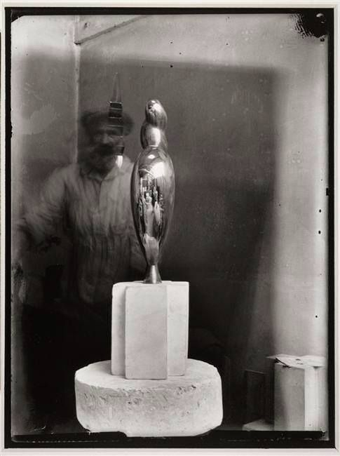 Brancusi in his studio... photographed by Nancy Cunard 1928