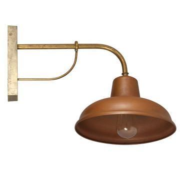 Wall Bracket Light Exterior E27 Copper
