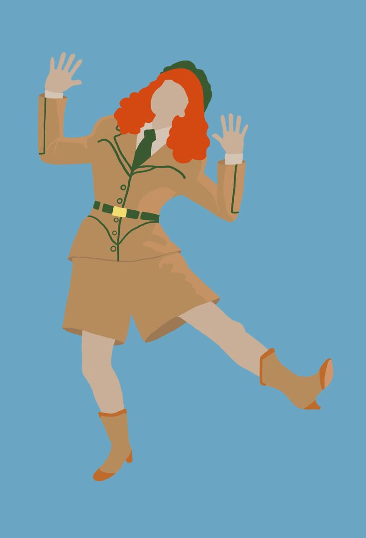 "Troop Beverly Hills: Phyllis Nefler Does the Freddy 4"" x 6"" Illustration print by unicorgi.com by Unicorgi on Etsy https://www.etsy.com/listing/205462383/troop-beverly-hills-phyllis-nefler-does"