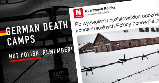 """Niewygodne.info.pl   Jest niemiecka odpowiedź na akcję #GermanDeathCamps. Newsweek twierdzi, że istniały """"polskie obozy koncentracyjne"""""""